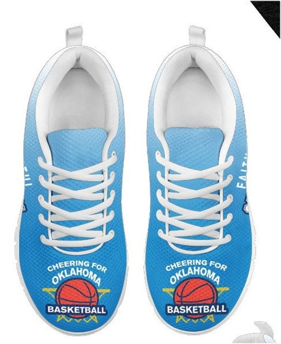 Oklahoma Fan HB Shoes Sneakers Basketball BK PP Walking 021A City Thunder rFRqOrZ