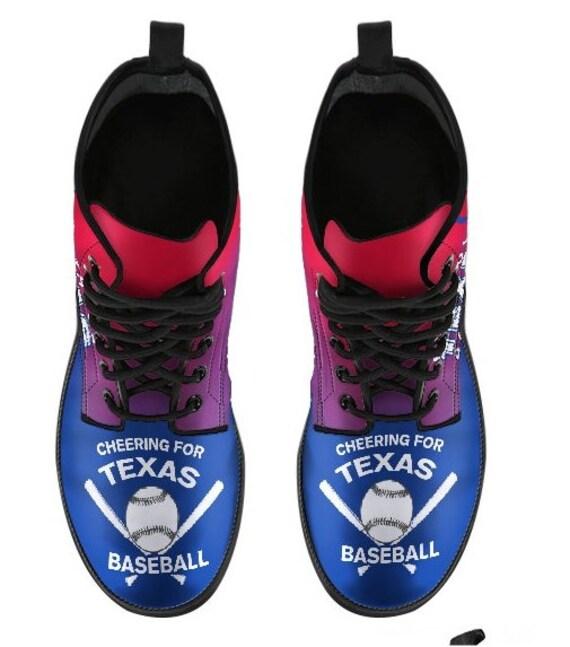 Boots HB Texas Fan 059D Rangers Baseball PP RRt4F
