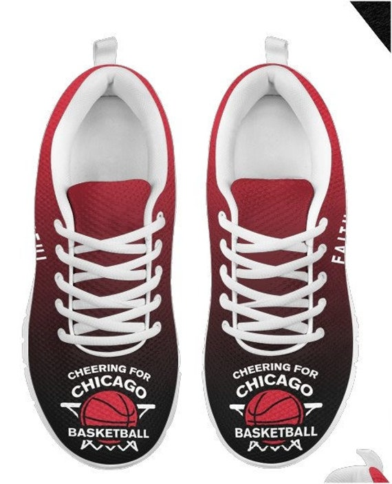 Basketball Fan Shoes 005A Bulls HB BK Sneakers Walking Chicago PP 5EwqWSWFT