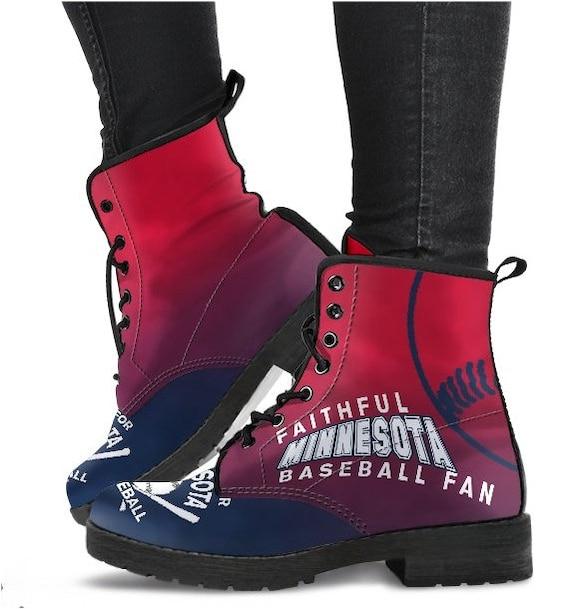 HB 048D Boots PP Baseball Twins Fan Minnesota Ow6XXq