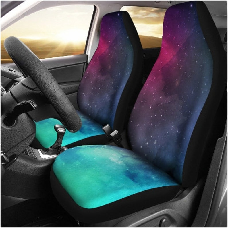 Car Seat Protector >> Galaxy Mint Lover Car Seat Cover Car Seat Protector Cosmic Etsy