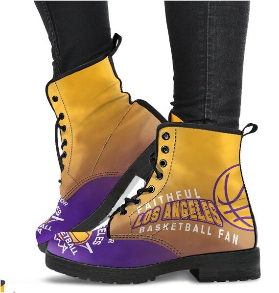 HB PP Boots Lakers Basketball Fan Angeles 014D BK Los aUxYq