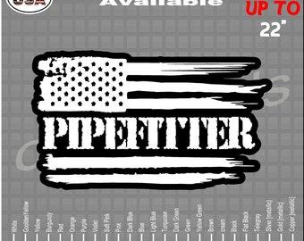 LOT OF 3 HARD HAT STICKER HELMET STICKER LAPTOP PLUMBER AMERICAN FLAG STICKER