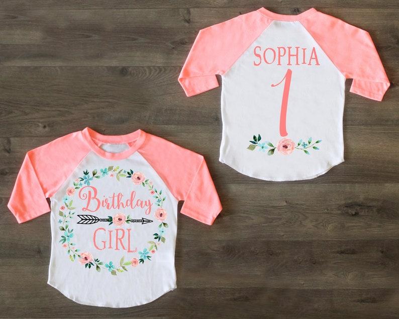 Birthday Girl Shirt First One