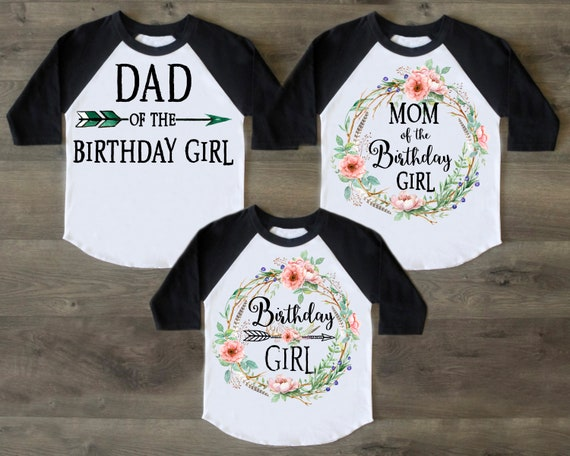 f5cd2794ed3d Birthday Shirt Birthday Outfit Family Shirt Birthday Girl