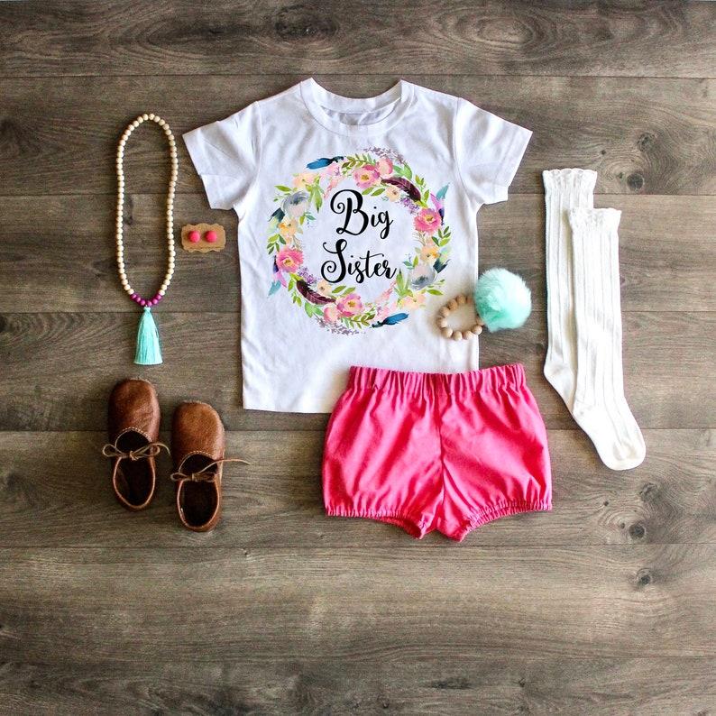 Little Sister Shirt Big Sister Little Sister Outfit Newborn ONESIE\u00ae Baby Sister ONESIE\u00ae Take Home Outfit Little Sister ONESIE\u00ae