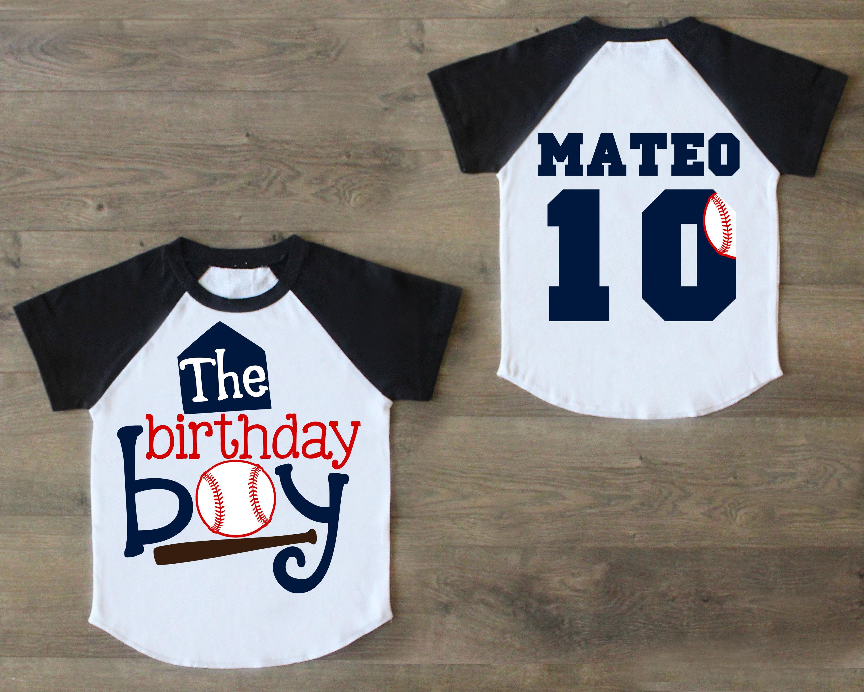 Birthday Boy Shirt Ten Tenth Outfit 10