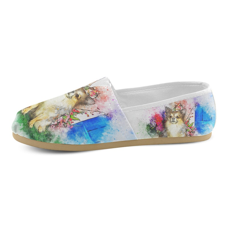 a13951e780f91 Women's Casual Shoes (Chihuahua Design). Chihuahua Shoes. Chihuahua Gifts.