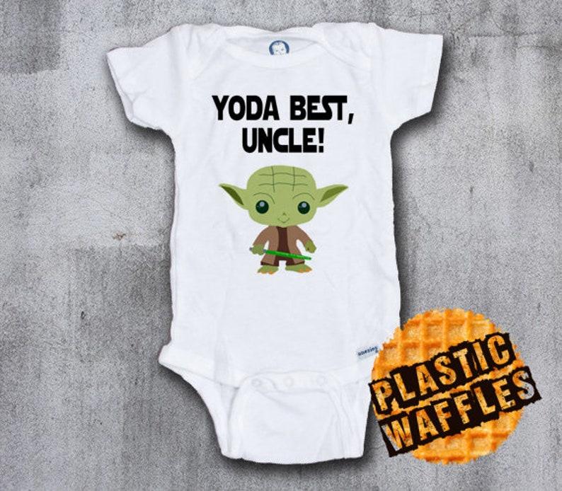 Yoda Best Uncle Gerber Baby Onesie