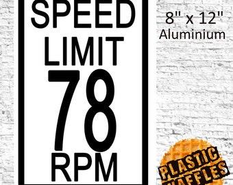 Speed lover etsy speed limit 78 rpm m4hsunfo