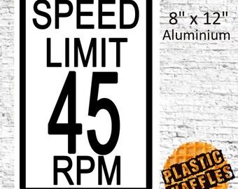 Speed lover etsy speed limit 45 rpm m4hsunfo