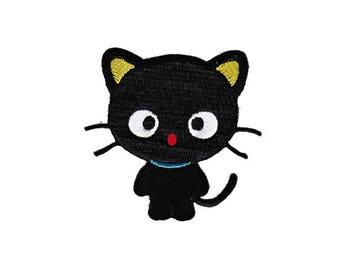 bunt Katzen Tiere Patches Aufbügeln Aufnäher // Bügelbild 7.2 x 4.6 cm