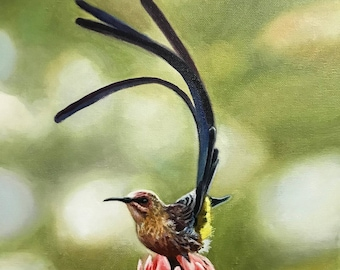 Bird - original oil painting