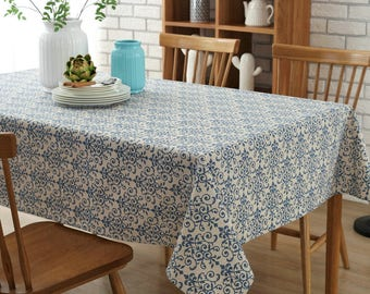 Beau 80 Square Tablecloth | Etsy