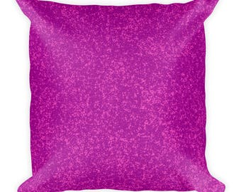Pink for Dayz Square Pillow