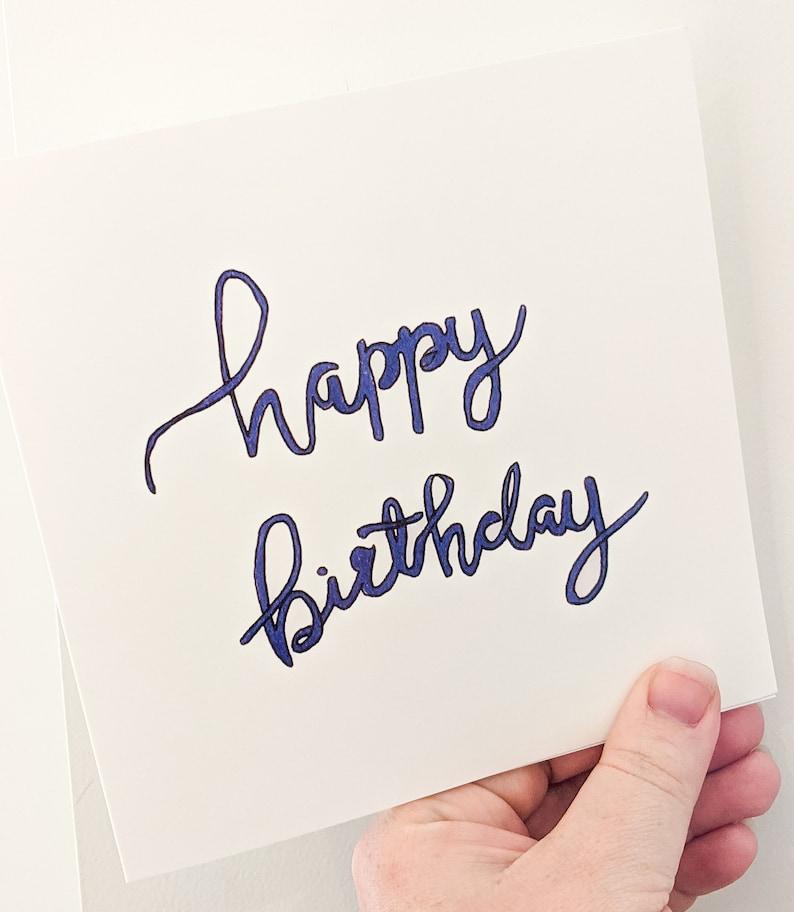 Birthday Card Mens Birthday Card Birthday Card For Him image 0