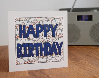 Happy Birthday, Birthday card, General Birthday Card, Birthday Card For Him, Mens Birthday Card