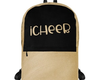 Cheerleader Backpack iCheer Laptop Bag Tote School