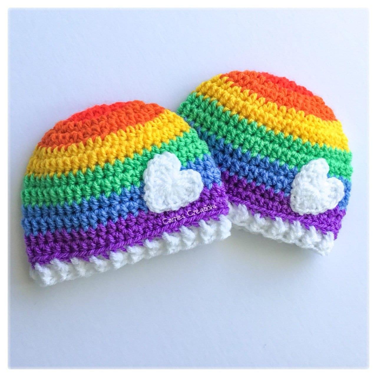 7e8dfc39dd5 Rainbow Baby beanie Rainbowbaby Rainbow hat Rainbow gift Baby