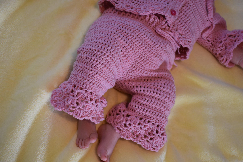 Crochet Baby Pant Pattern Sizes Newborn To 12 Months Etsy