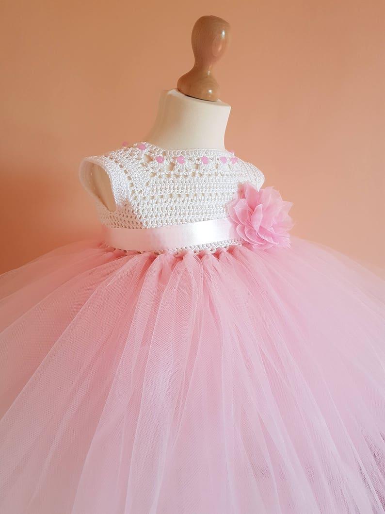 crochet tutu dress pattern tutu dress pattern crochet yoke image 1