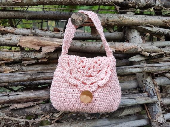 Crochet Bag Pattern Crochet Purse Pattern Crochet Girl Purse Etsy
