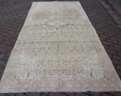 Antique 4 39 9 39 39 x10 39 4 39 39 feet geometric vintage Patterned gorgeous carpet Distressed oriental decor interiors beige brown free shipping
