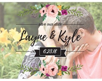 Save the Dates - PERSONALIZED