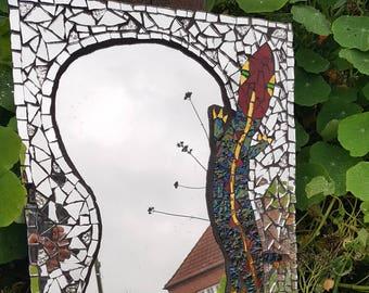 Mosaic Mirror, Mirror, lizard