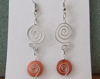 ink2055 Vintage Women Girl Earrring Women Girl Pear//Round//Square Faux Amethyst Plated Drop Dangle Hook Earrings
