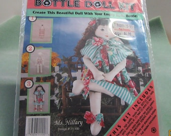 ONE & ONLY CREATIONS - Bottle Doll Kit - Ms. Hillary – Design #11-100