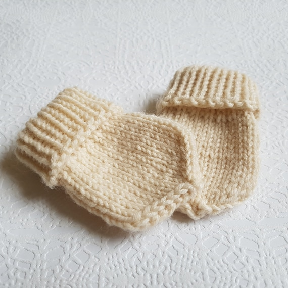 Knitting Pattern Baby Mittens Pattern For Baby Gloves Etsy