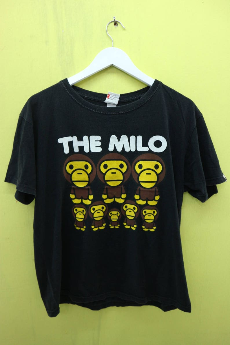 e5be03ed9 Vintage Baby Milo Bathing Ape Shirt Sport Wear Skate Top Tee T | Etsy