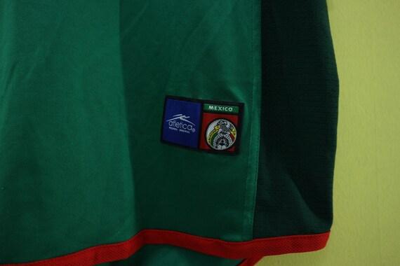 f3c2a86fa Vintage Mexico Football Team Minimalist Logo T Shirt Jersey