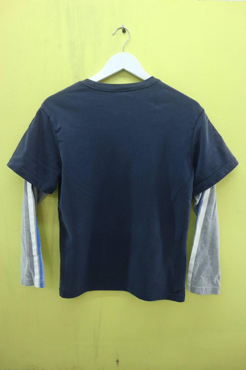 cfd4b5627075b Vintage Nike Big Spell Out Long Sleeve T Shirt Sport Wear Size L