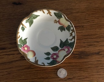 Peach Bloom Saucer by Johnson Brothers England