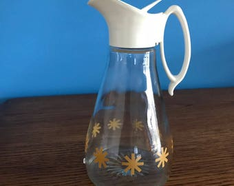 Log Cabin Promo Syrup Pitcher 1960's