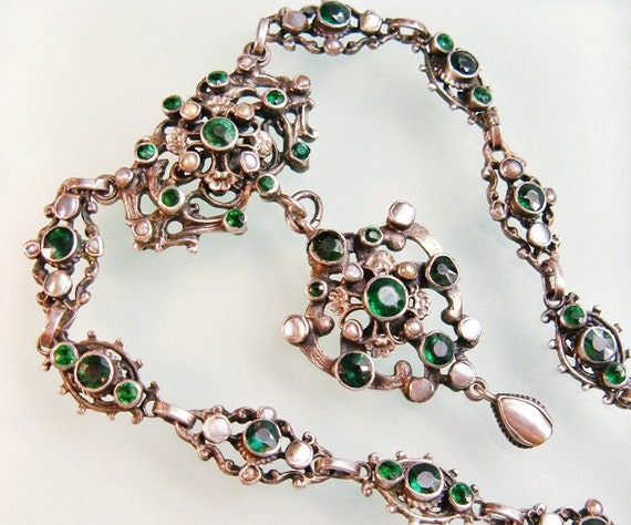 """NOUVEAU 10 mm NATURAL noble New Jade Gemstone Collier 18/"""""""
