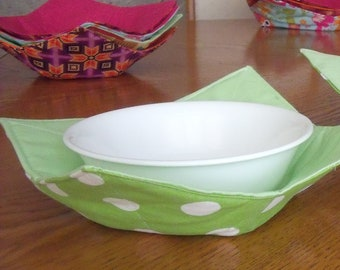 Reversible Microwave bowl cozy