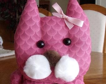 Kitten tissue box cover