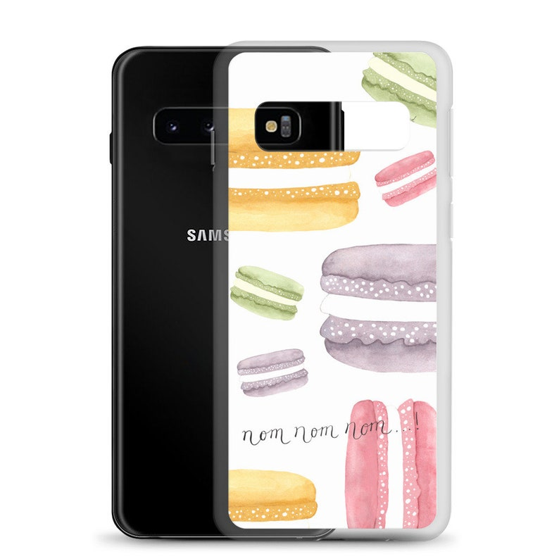 French Macarons Samsung Phone Case image 0