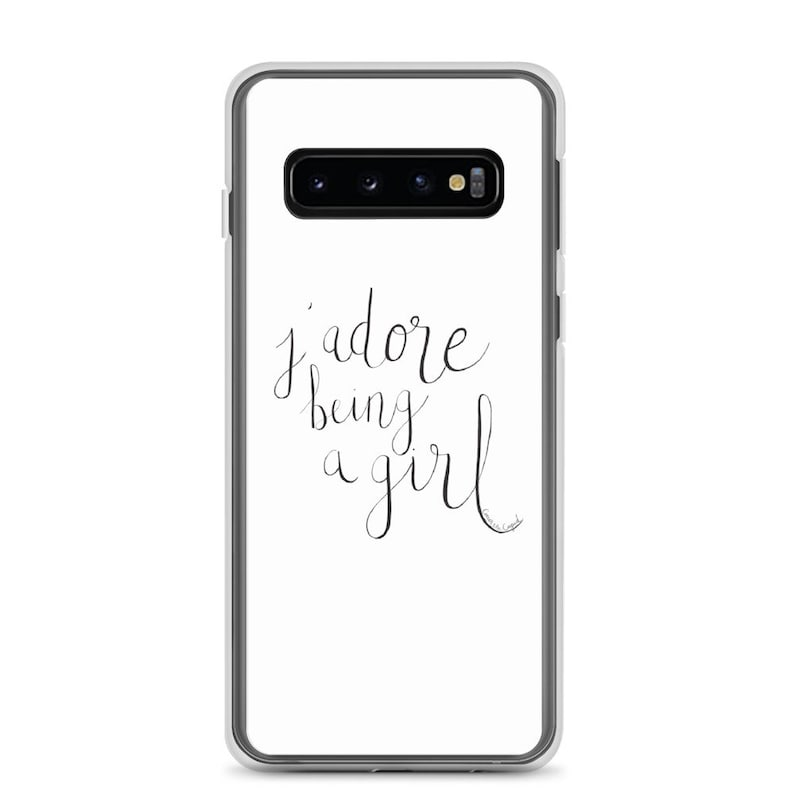 J'Adore Being a Girl Samsung Phone Case image 0