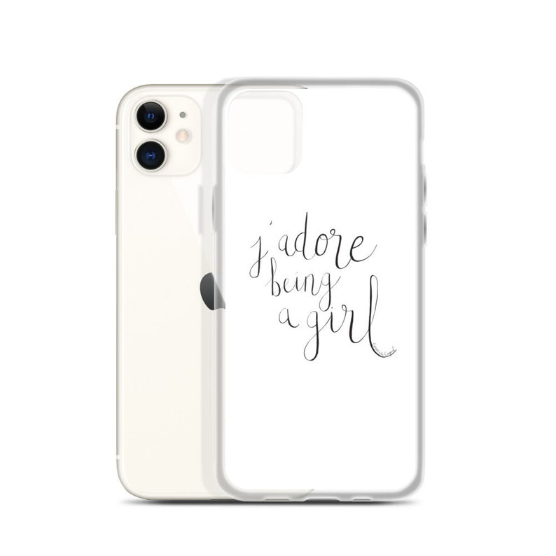 J'Adore Being a Girl iPhone Case image 0