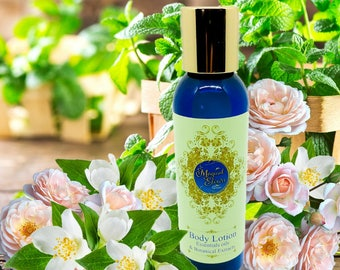 Jasmine Rose and Green Woods, Body Lotion, Spray Lotion, Lotion