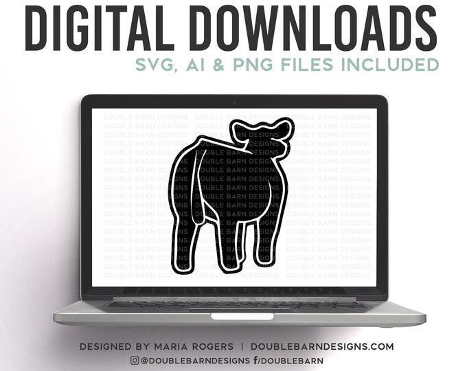 Rear View Show Steer Digital Download SVG