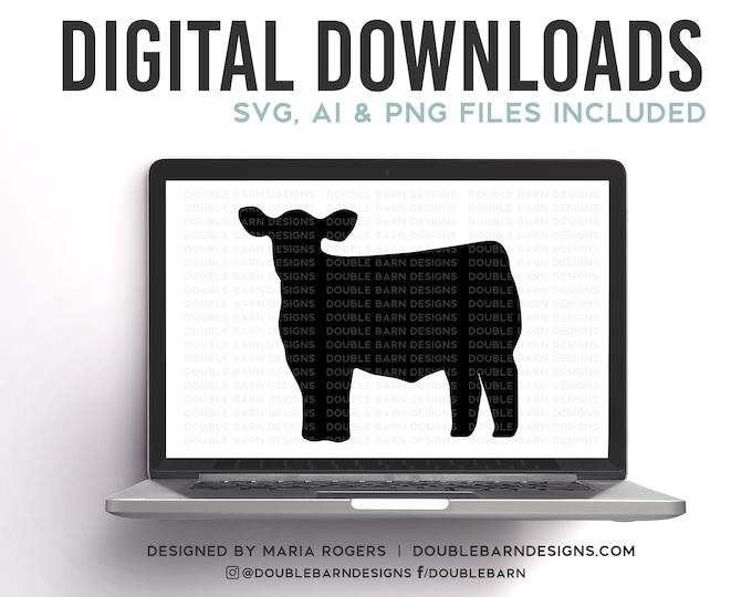 Show Cow Digital Download