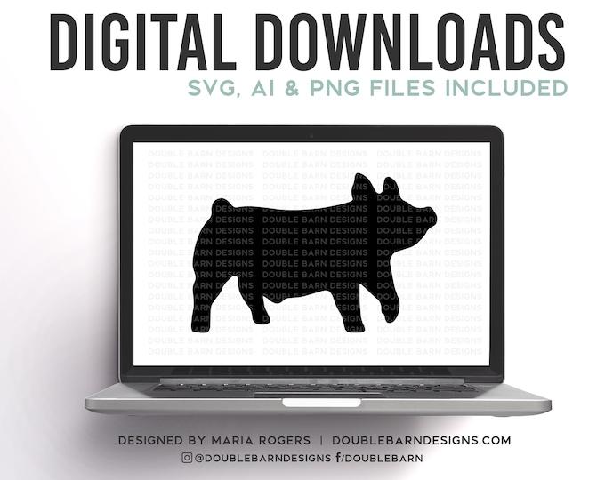 Show Pig Digital Download