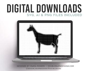 Dairy Doe | Dairy Goat Profile Digital Download | NEW