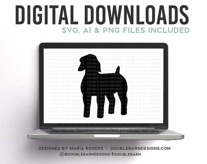 Show Goat Digital Download