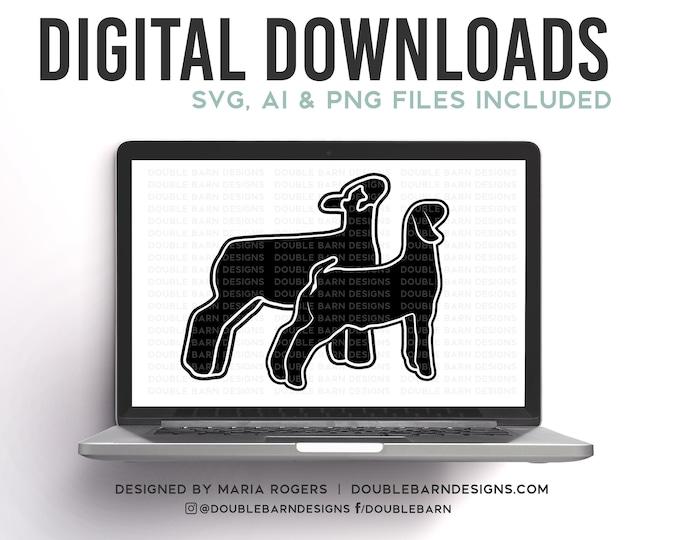 Market Lamb & Goat Digital Download